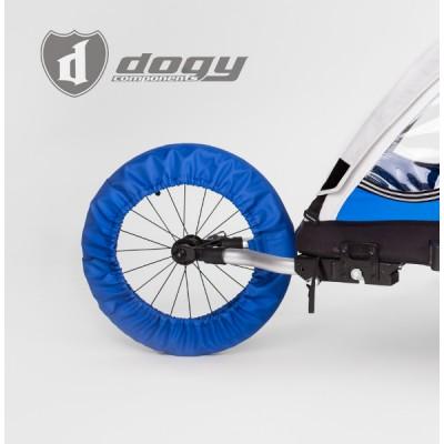 Jogging wheel cover